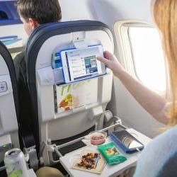 En los bolsillos del asiento del avión el pasajero suele dejar de todo, incluyendo pañuelos usados y comida sin terminar.