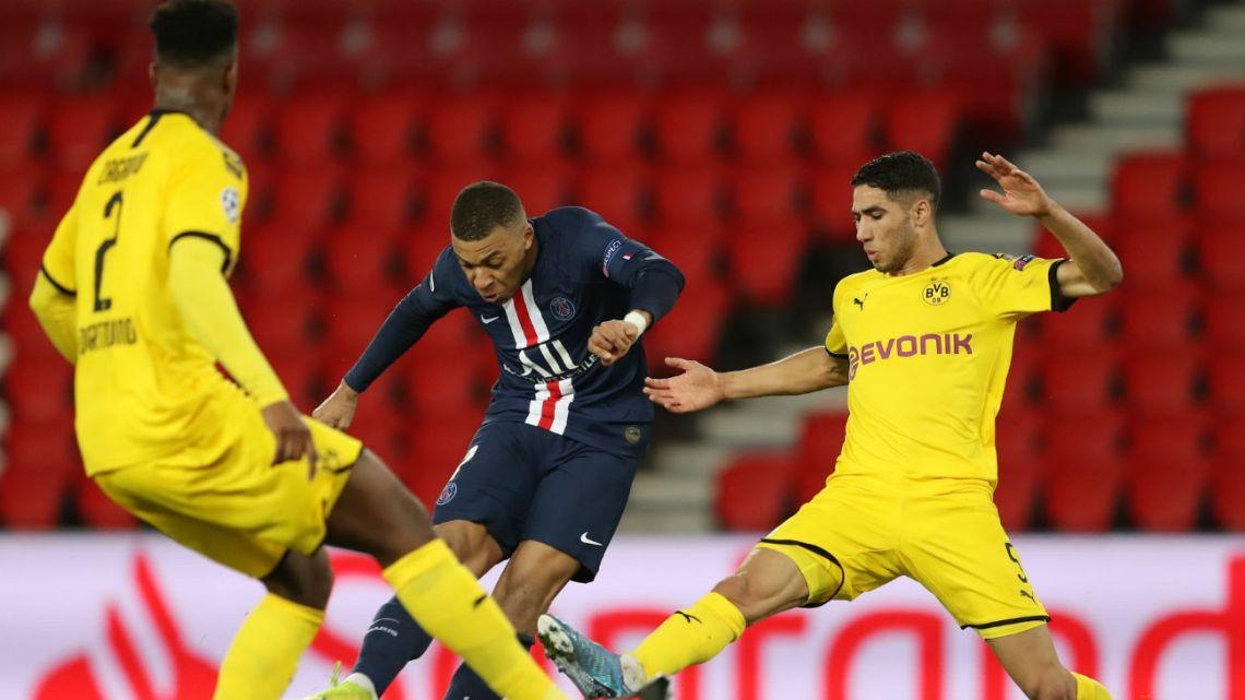 Paris Saint Germain remontó la serie ante Borussia Dortmund