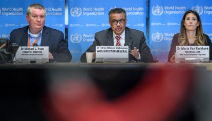 La OMS brindó una conferencia de prensa en Suiza, en la que declaró que el coronavirus es una pandemia.