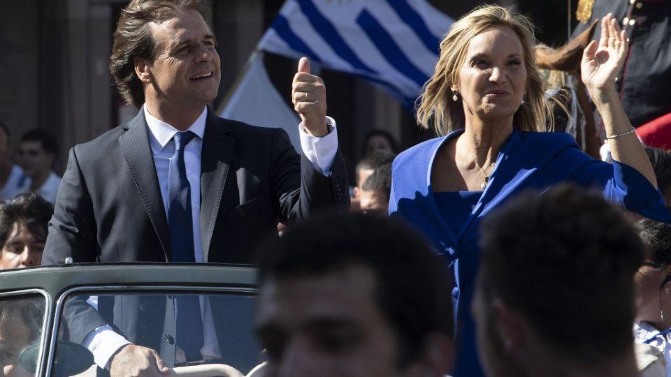 Luis Lacalle Pou asumió como presidente de Uruguay el 1 de marzo de 2020.