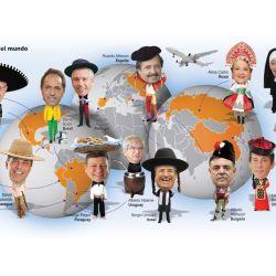 Embajadores argentinos | Foto:Fernando San Martín