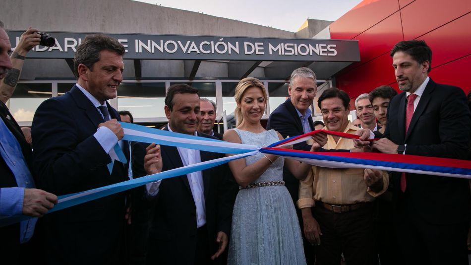 Sergio Massa en Misiones 20200313