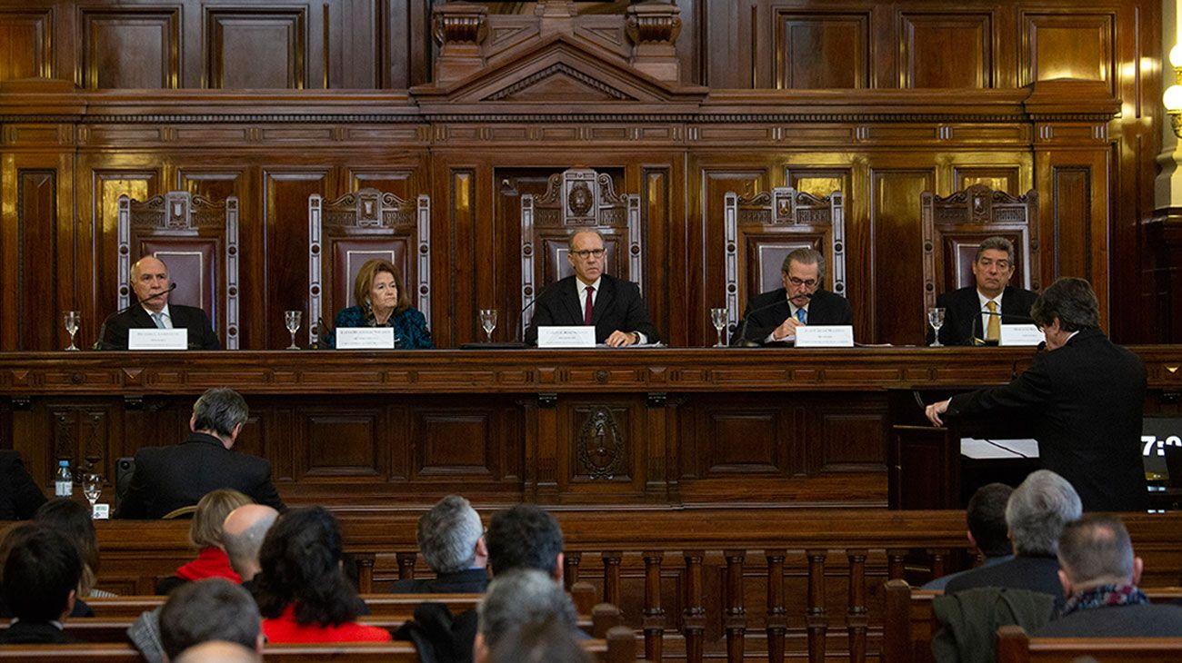 DECISIÓN. Adoptaron las licencias extraordinarias para judiciales.