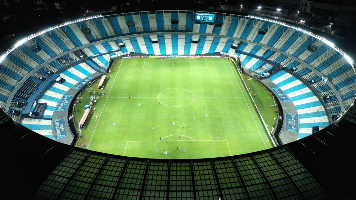 Racing Club and Peru's Alianza Lima play behind closed doors.