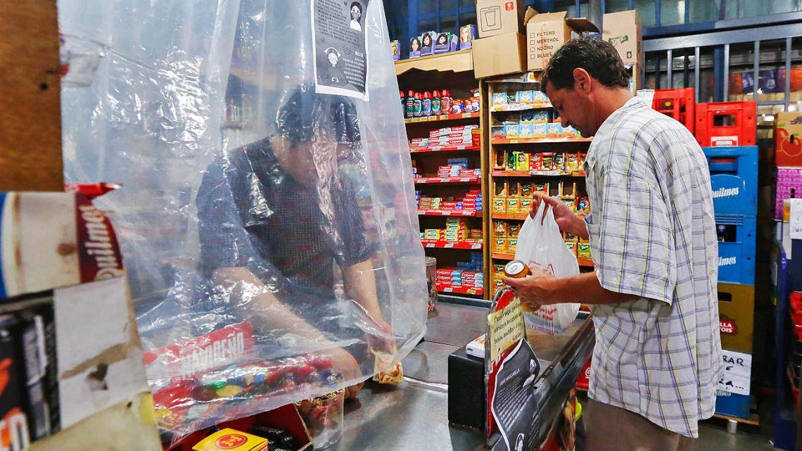 Preventive measures in a local market.