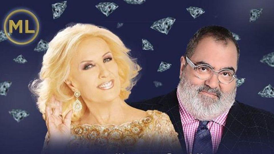 Jorge Lanata y Mirtha Legrand