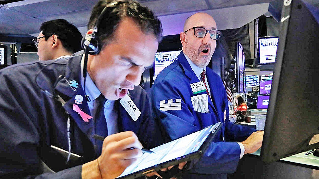 Wall street. El capitalismo financiero globalizado también pone en crisis al mundo.