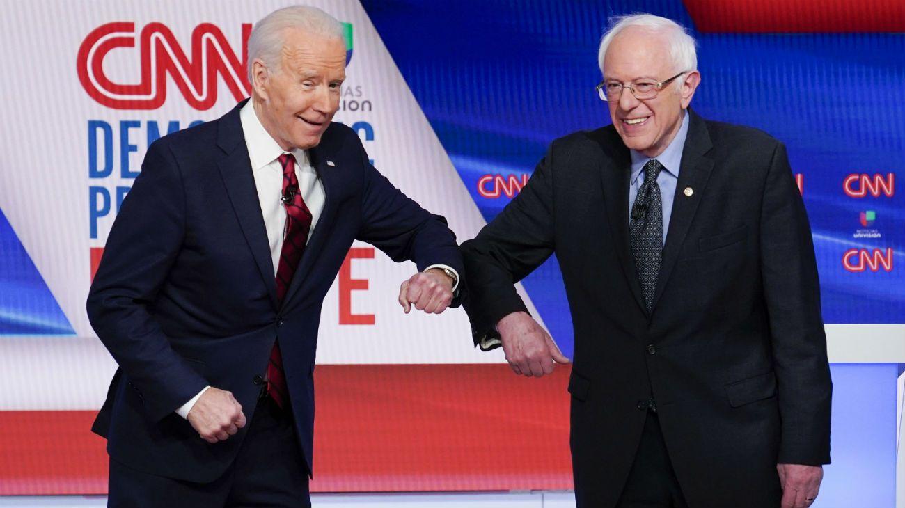 Los demócratas votan en las primarias a pesar del coronavirus