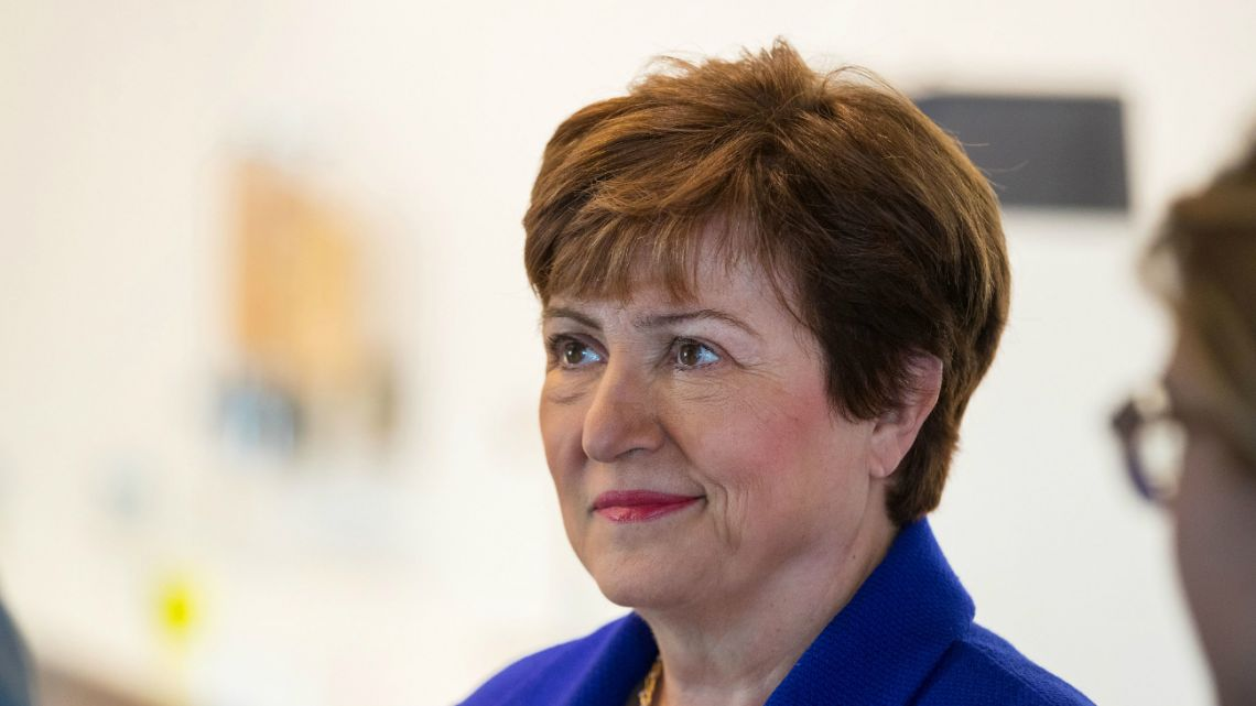 International Monetary Fund director Kristalina Georgieva.