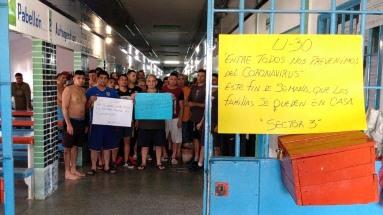 El CNPT reclamó protección de la población carcelaria frente al coronavirus