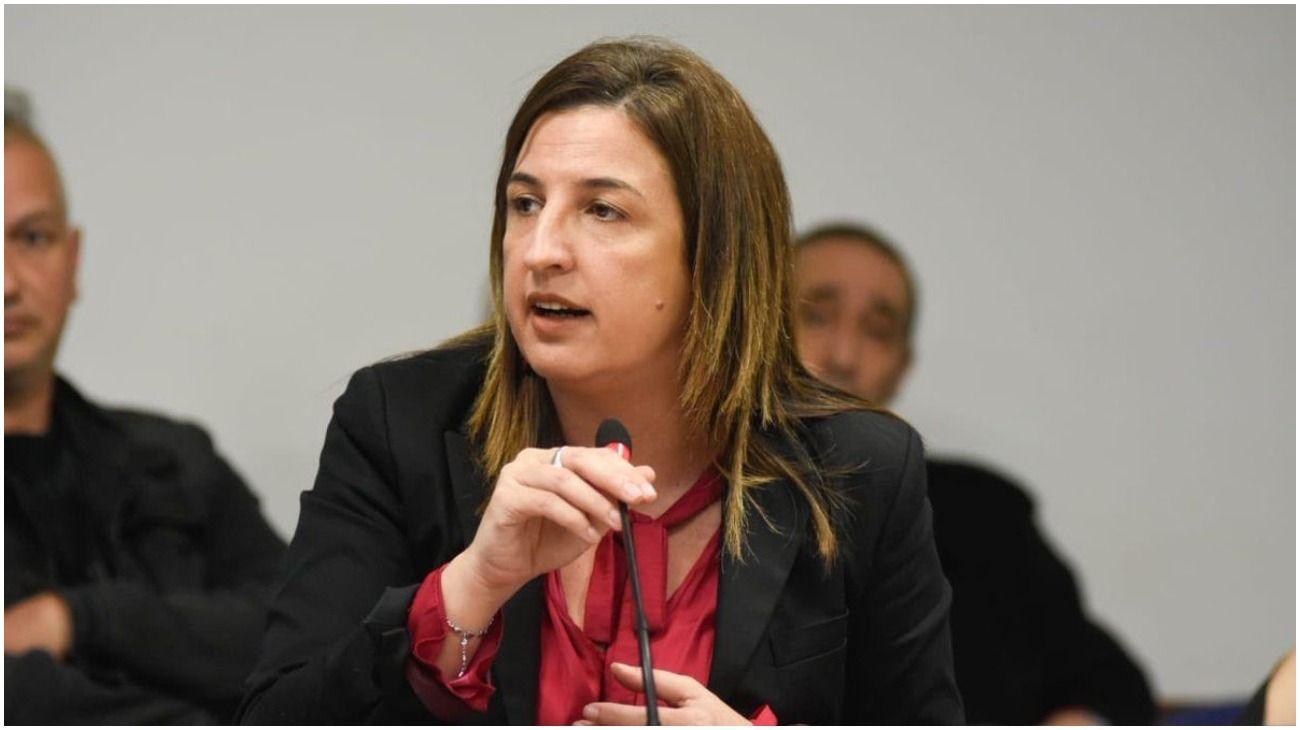 La legisladora porteña del Frente de Todos, Claudia Neira.