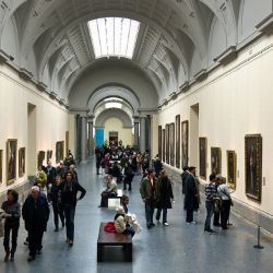 El madrileño Museo del Prado se autotitula de pintores y no de pinturas porque tiene en su acervo las obras de