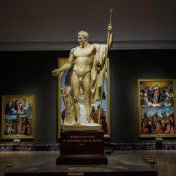 La Pinacoteca de Brera alberga una de las colecciones de arte antiguo más bella de Europa.