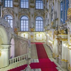El fastuoso Museo Hermitage es la representación de las colecciones que los zares fueron acumulando hasta su destitición.