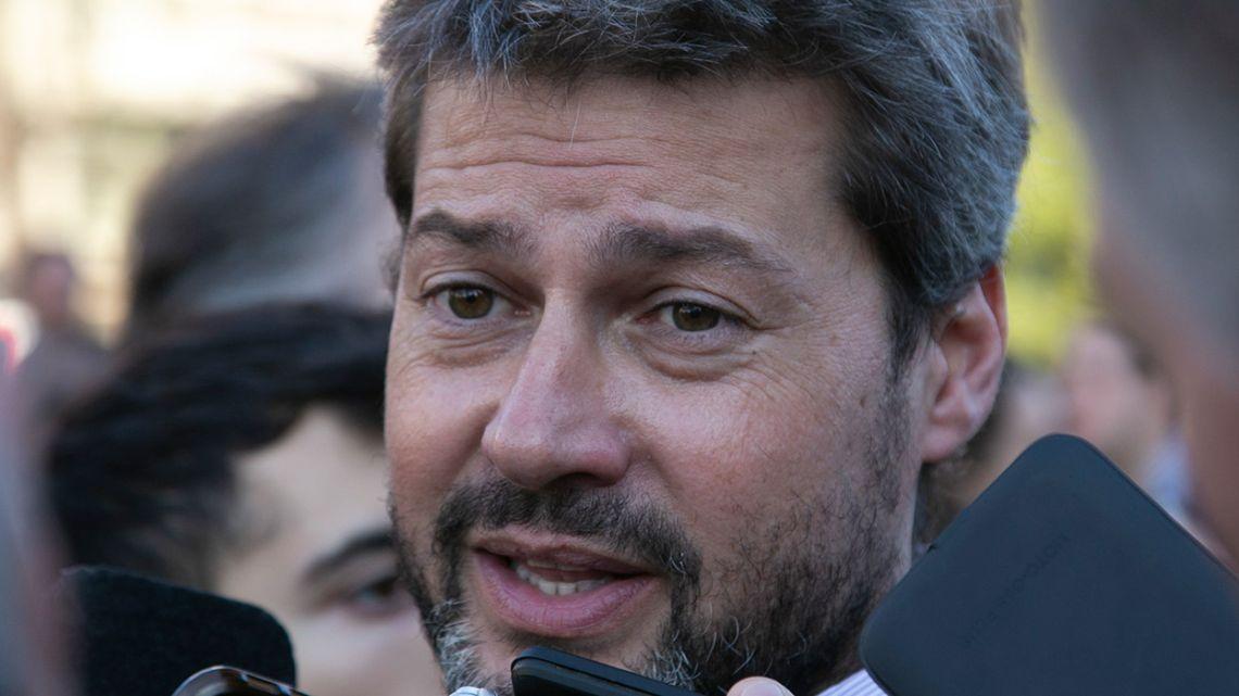 Tourism & Sports Minister Matías Lammens.