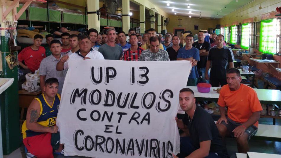 2020 03 17 Coronavirus Carceles Bonaerenses Unidad 13