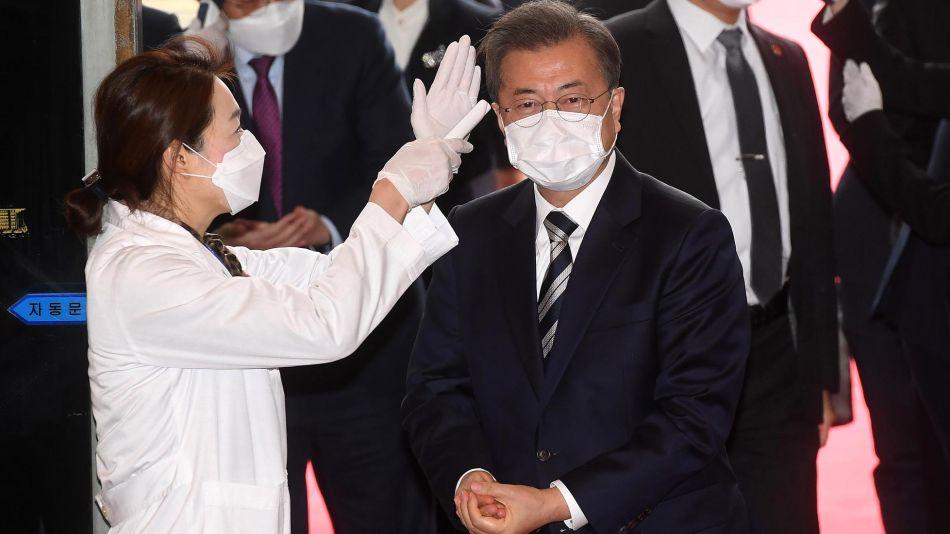 Moon Jae-in presidente Coreano 20200317