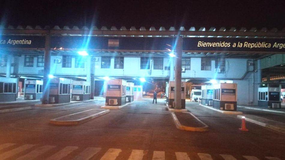 Pasos de Frontera argentinos Cerrados 20200317