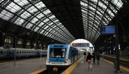 Estación Retiro de la Línea Mitre, Bs. As.