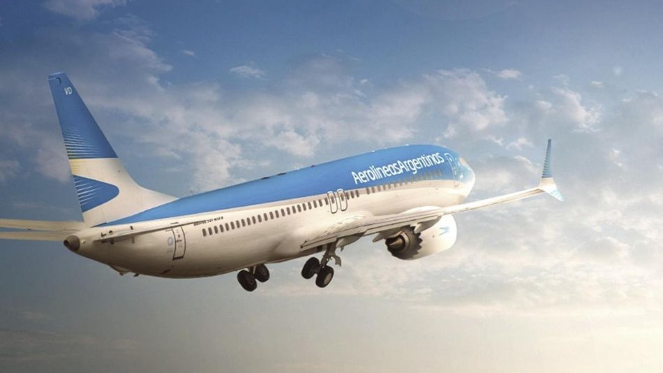Aerolíneas Argentina vuela para repatriar 20200318