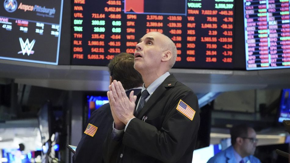 Caída de Wall Street 20200318