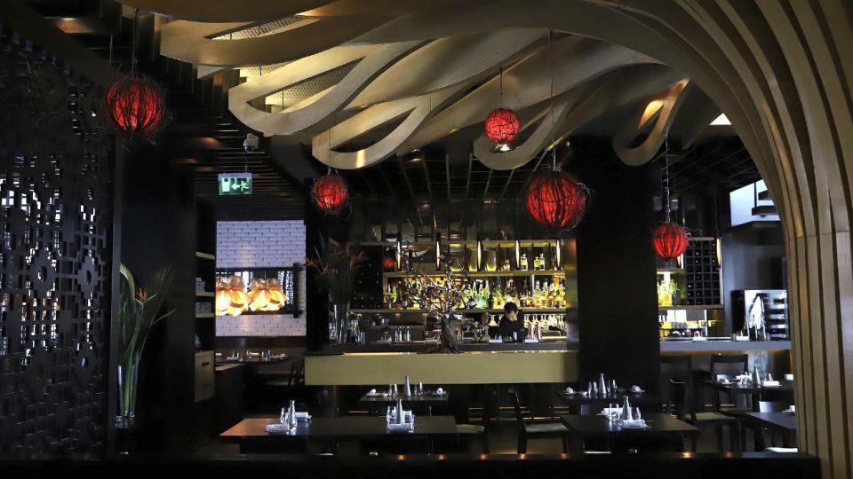 El restaurante Osaka, de Puerto Madero, Buenos Aires.