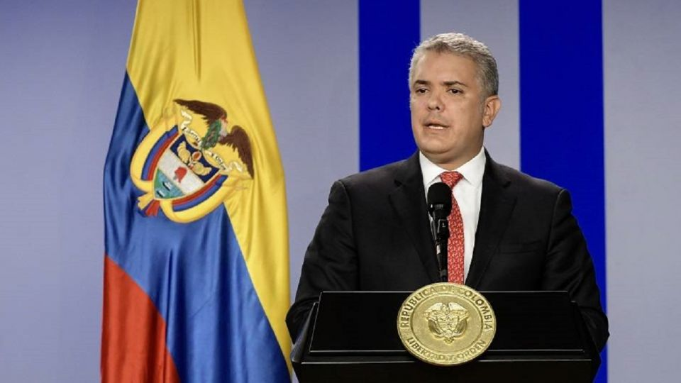 Ivan Duque, presidente de Colombia