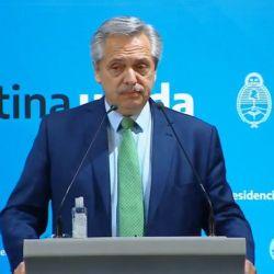 Alberto Fernández y un anuncio histórico