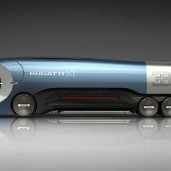 Bugatti Hyper Truck imaginado por el diseñador Prathyush Devadas.