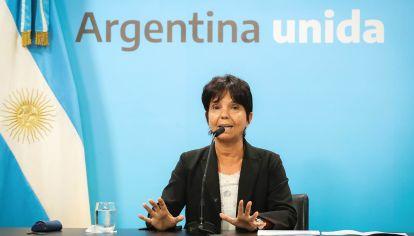 Mercedes Marcó del Pont, titular de la AFIP.