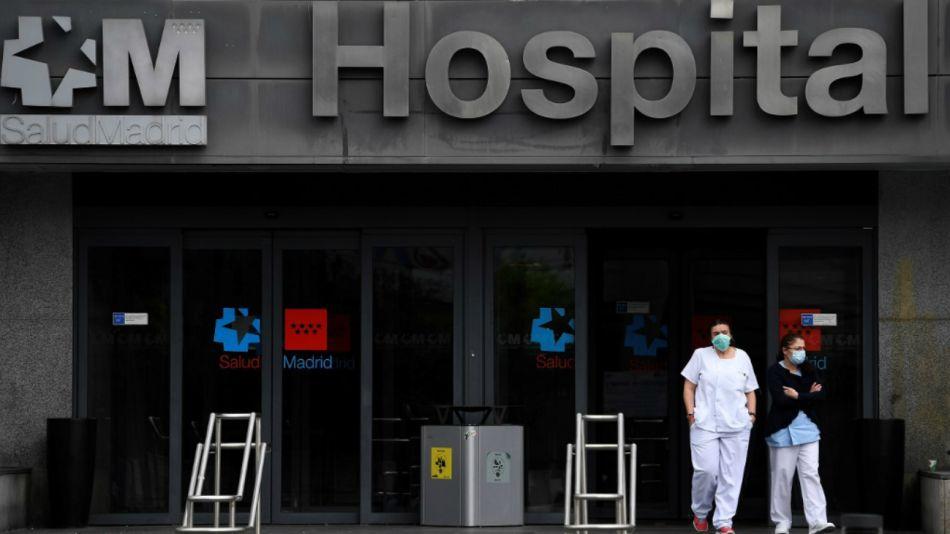 hospital madrid españa coronavirus