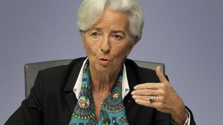 presidenta del BCE, Christine Lagarde