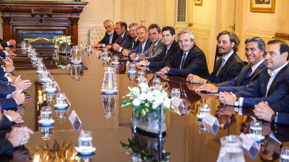 Reunión con gobernadores y el presidente 20200319