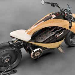 Uno de los fuertes de esta moto eléctrica es su autonomía de hasta 300 kilómetros, en modo ciudad.