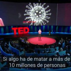 Bill Gates durante su charla TED en 2015 | Foto:cedoc