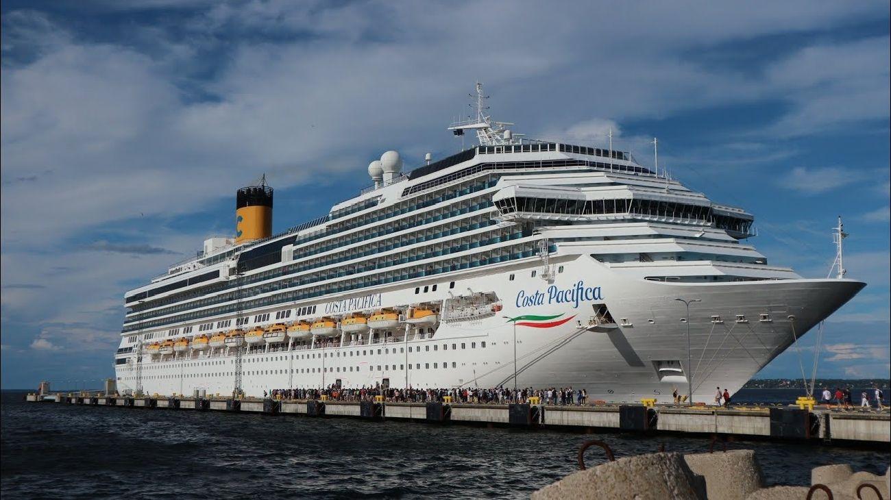 El crucero Costa Pacífica. Allí muchos realizan la travesía llamada El Retorno.