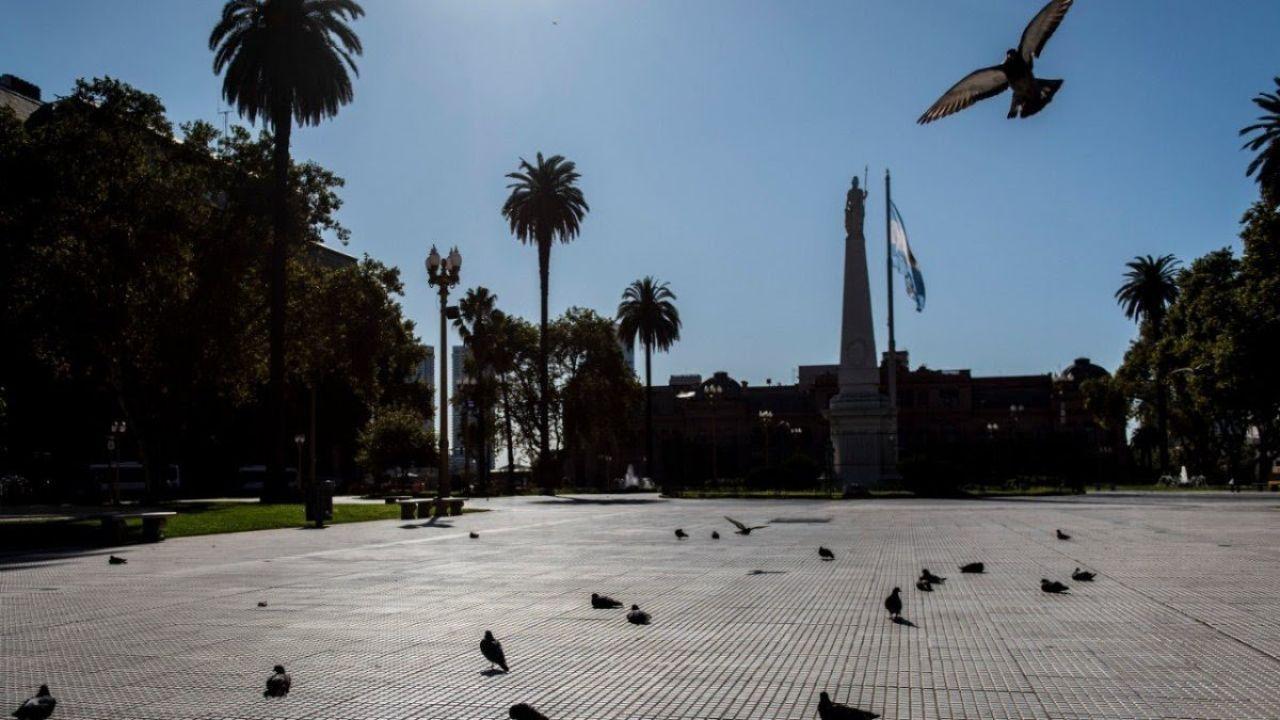Así lució Buenos Aires en cuarentena | Foto:Cedoc