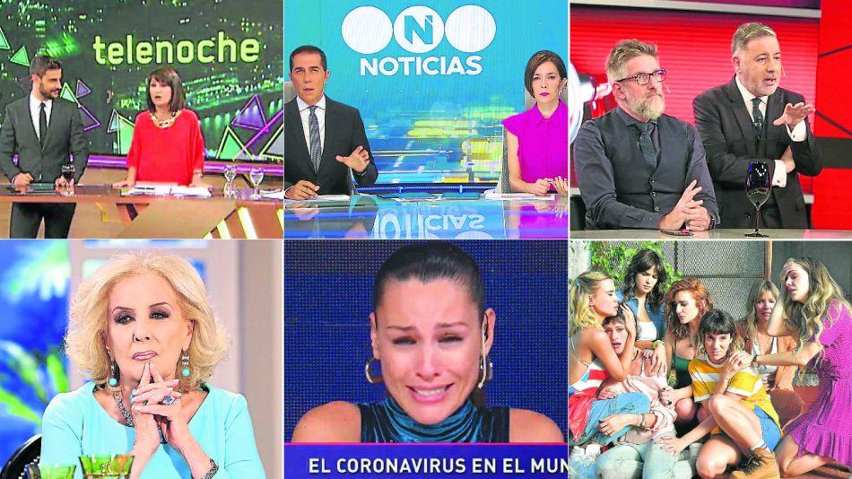 television encendido coronavirus rating 20200320
