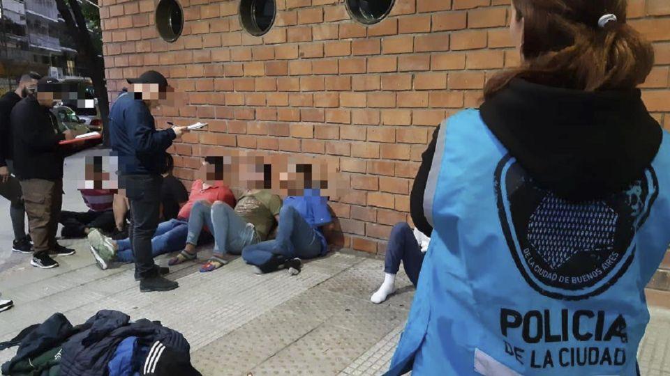 Detenidos por la Policía de la Ciudad.