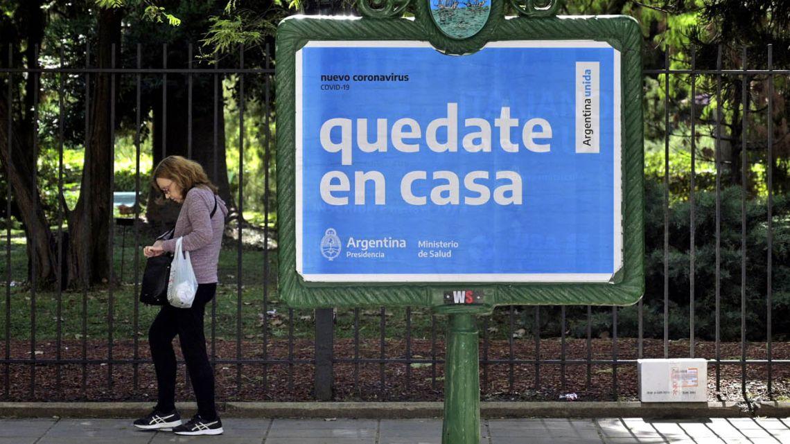 Argentina enters unprecedented lockdown in bid to stem virus.