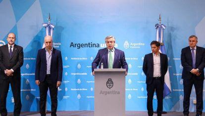 ANUNCIO. Para los especialistas, el discurso de Fernández se orienta hacía la antigrieta. También señalan que se sobreestimó el riesgo.