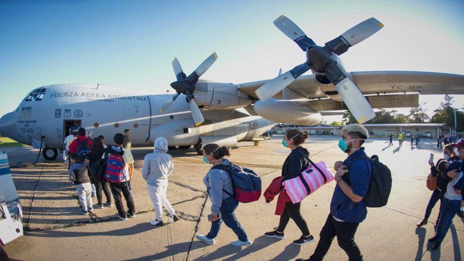 Personas repatriadas a Perú