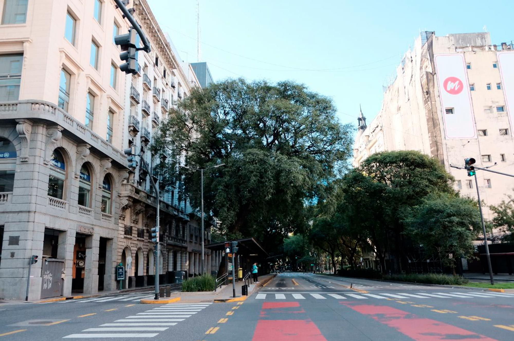 La Ciudad de Buenos Aires vacía