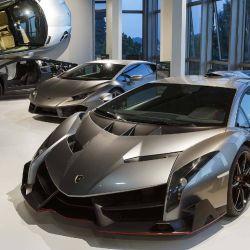 En las dos plantas del Museo Lanborghini se pueden ver los coches históricos, concept cars y modelos recientes de la marca