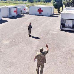 Hospital modular militar