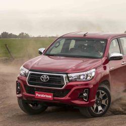 Toyota Hilux, la pick-up líder en el mercado local con 1.136 unidades patentadas en marzo.