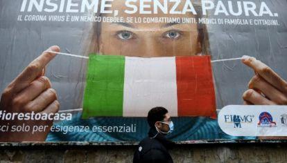 Italia, el país con más muertes a causa de la pandemia.
