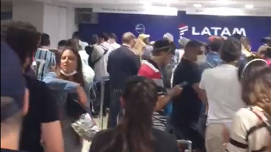 argentinos varados chile