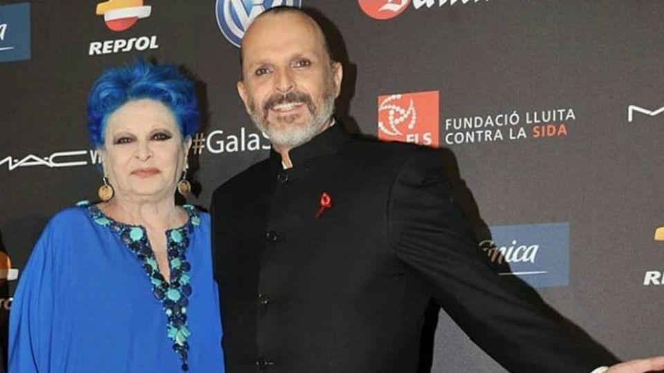 A sus 89 años falleció Lucía Bosé, la madre de Miguel Bosé, víctima de una neumonía