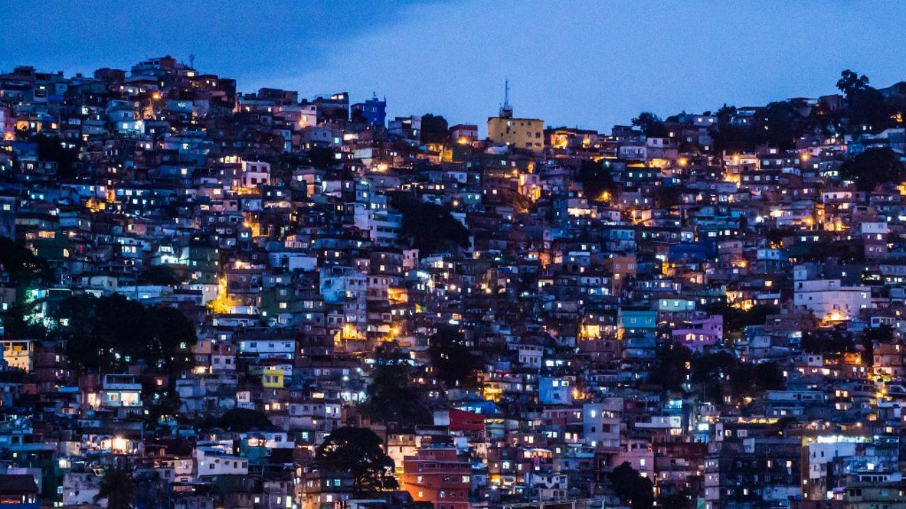 La favela La Rocinha, Río de Janeiro.